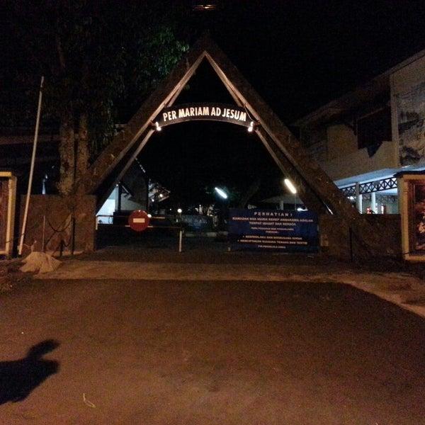 Photo taken at Gua Maria Kerep by Irvan A. on 12/11/2013