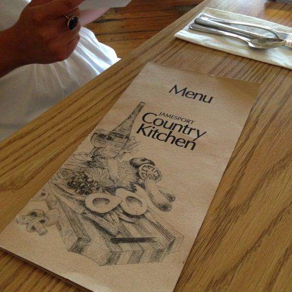 Jamesport Country Kitchen Menu