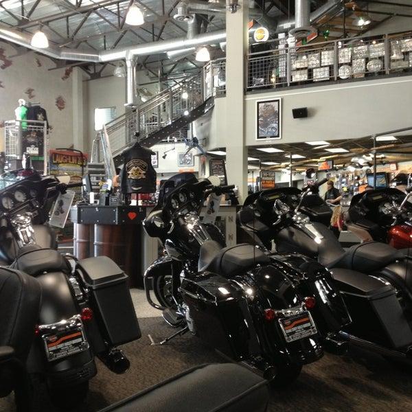 Photo taken at Orange County Harley-Davidson by Emily B. on 2/16/2013