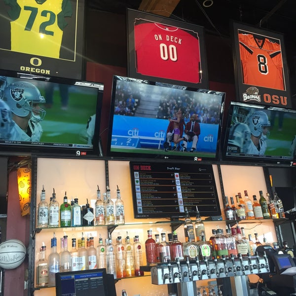 Photo taken at On Deck Sports Bar & Grill by Mark B. on 8/13/2016