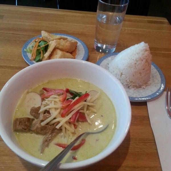 Photo taken at Nahm Thai Kitchen by Erin G. on 9/14/2015