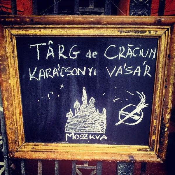 Photo taken at Moszkva Kávézó by Ioana C. on 12/21/2013