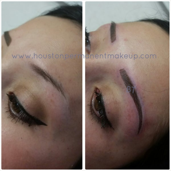 The best 3D Hairstroke Eyebrows in Houston