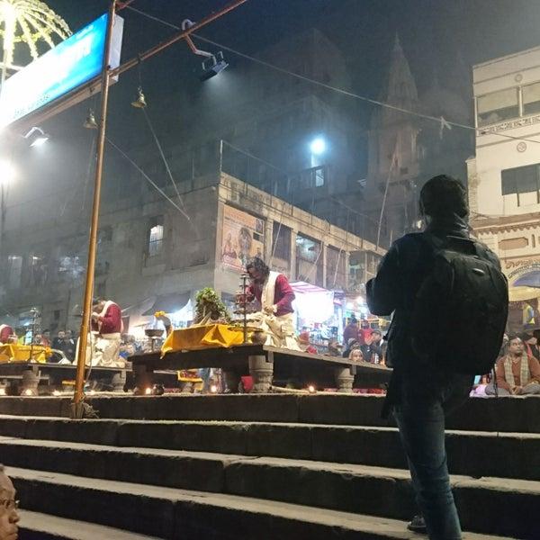 Photo taken at Dasaswamedh Ghat by Lungta on 1/3/2018