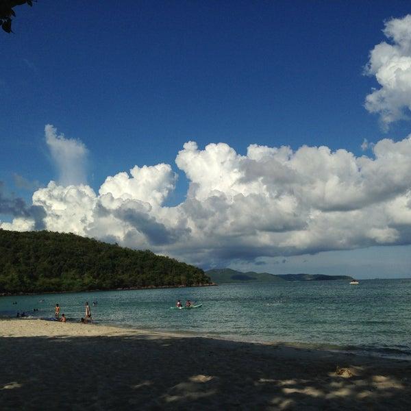 Photo taken at Sai Keaw Beach by Prown Apple U. on 5/1/2013