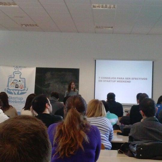 Foto tomada en FGULL - Fundación General de la Universidad de La Laguna por Jesica B. el 2/2/2013