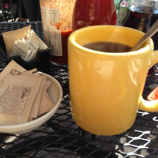 Photo taken at Eggs In the City by George O. on 11/3/2012