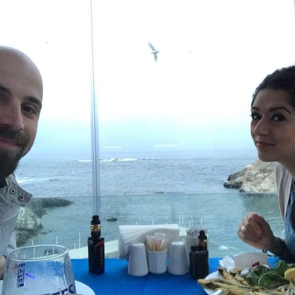 4/30/2018 tarihinde Mrs. Yaparziyaretçi tarafından İyot Restaurant'de çekilen fotoğraf