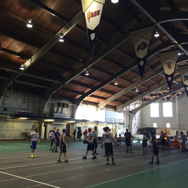 Photo taken at Balch Fieldhouse by Brian P. on 6/5/2014