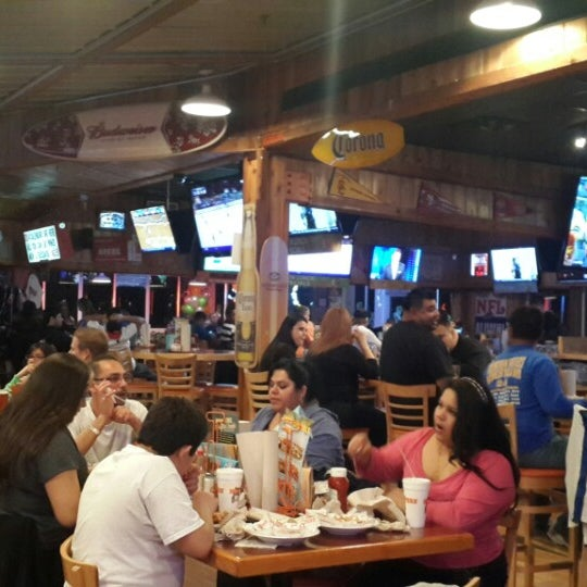 Photo taken at Hooters of Ontario by Miguel G. on 3/1/2014