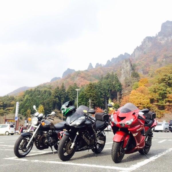 Photo taken at 妙義公園駐車場 by ミヤ on 11/7/2015