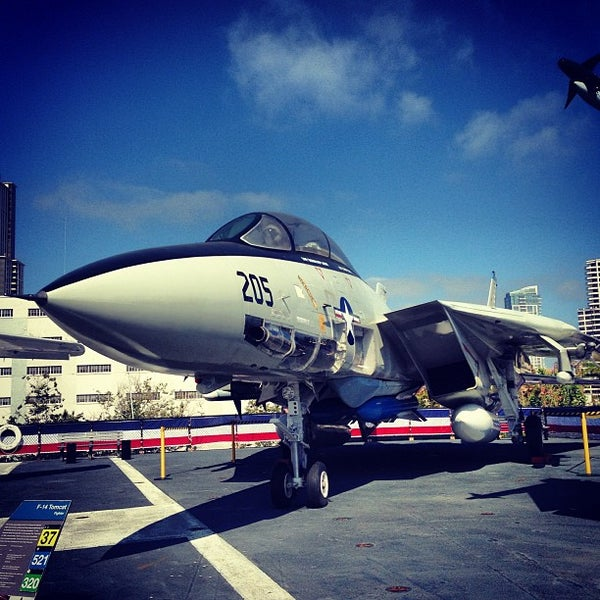 Photo taken at USS Midway Museum by Dan D. on 6/14/2013