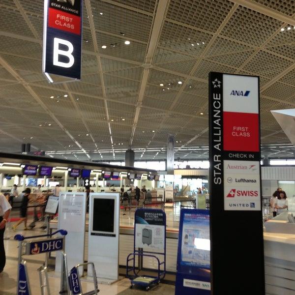 Photo taken at Narita International Airport (NRT) by Peter KB C. on 7/25/2013