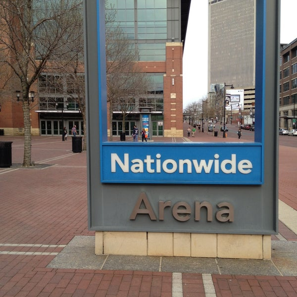 Photo taken at Nationwide Arena by Vic M. on 4/10/2013