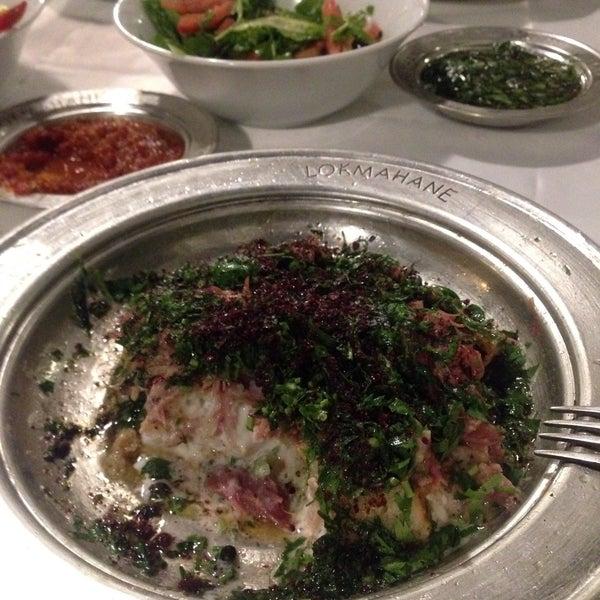 10/20/2017 tarihinde Zeynep K.ziyaretçi tarafından Lokmahane Restaurant'de çekilen fotoğraf