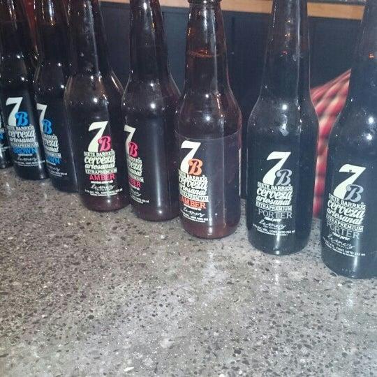 Foto tomada en Cervecería 7B por Javier el 6/11/2015