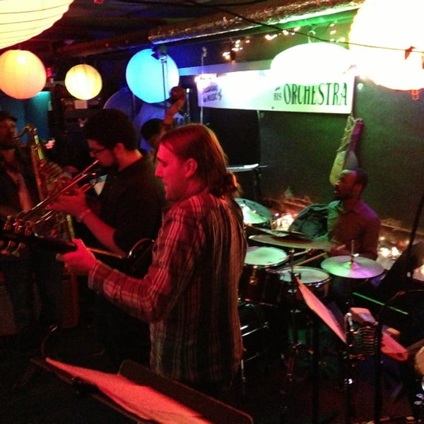 Photo taken at Fat Cat by Mark W. on 1/19/2013