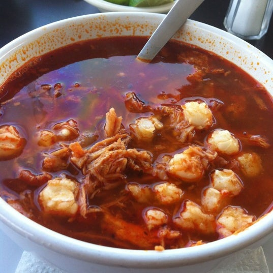 Photo taken at Pozole y Tacos Regios by naii p. on 11/5/2012