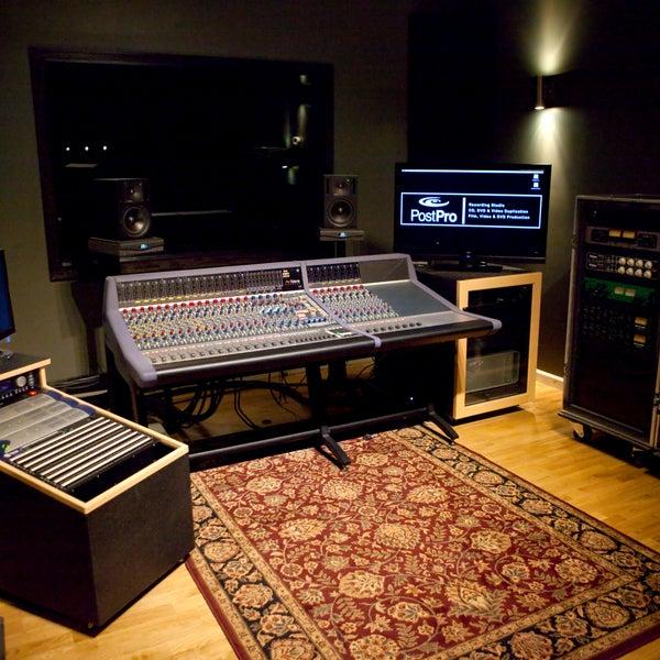 Photo taken at Post Pro Recording Studio by Post Pro Recording Studio on 1/11/2014