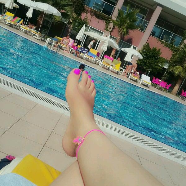 9/17/2016 tarihinde Fatma T.ziyaretçi tarafından Primasol Telatiye Resort'de çekilen fotoğraf