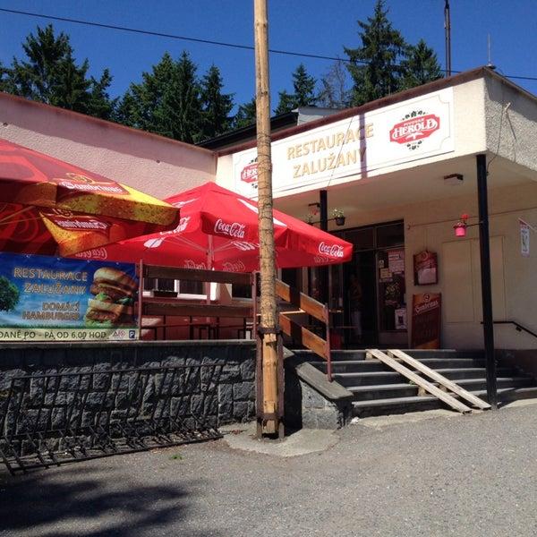 Photo taken at Restaurace Zalužany by Vlastimil V. on 6/7/2014