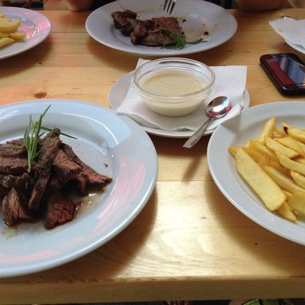Photo taken at Restaurace Zalužany by Vlastimil V. on 7/6/2014