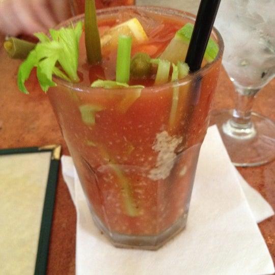 Photo taken at Atchafalaya Restaurant by Megan P. on 3/10/2012