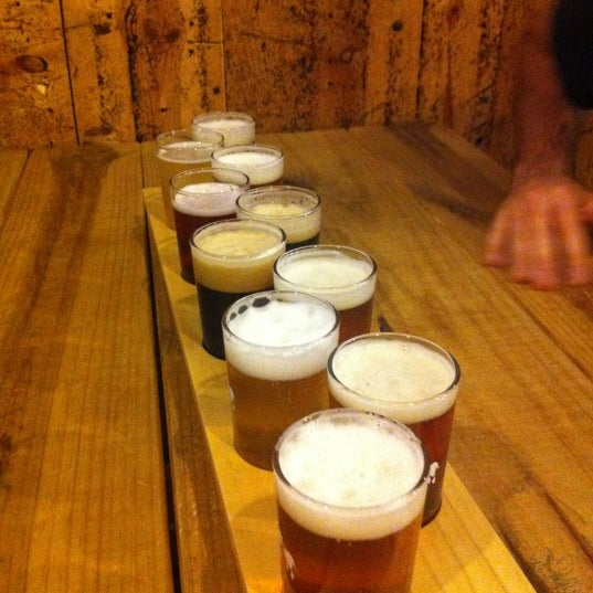 Photo taken at Strange Craft Beer Company by Rachel on 9/22/2012