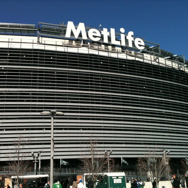 Photo taken at MetLife Stadium by Caio C. on 12/23/2012