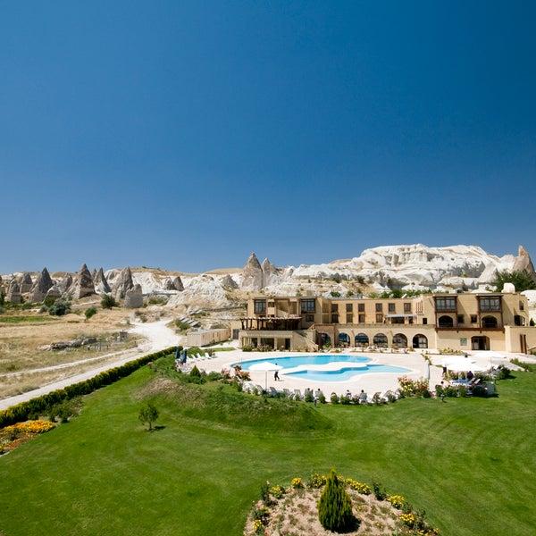1/14/2014 tarihinde Tourist Hotels & Resorts Cappadociaziyaretçi tarafından Tourist Hotels & Resorts Cappadocia'de çekilen fotoğraf