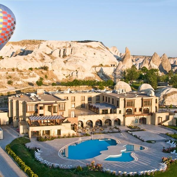 6/22/2015 tarihinde Tourist Hotels & Resorts Cappadociaziyaretçi tarafından Tourist Hotels & Resorts Cappadocia'de çekilen fotoğraf