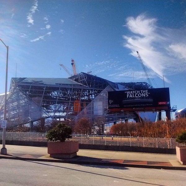 Mercedes Benz Stadium Downtown Atlanta Atlanta Ga
