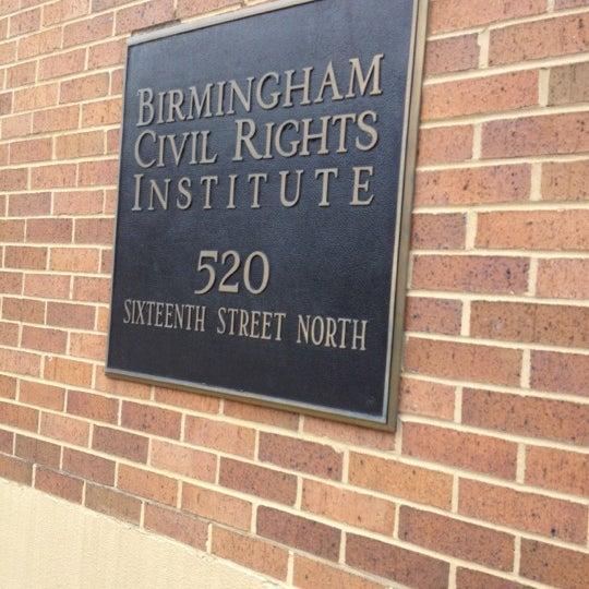 Photo taken at Birmingham Civil Rights Institute by Suezette R. on 11/6/2012