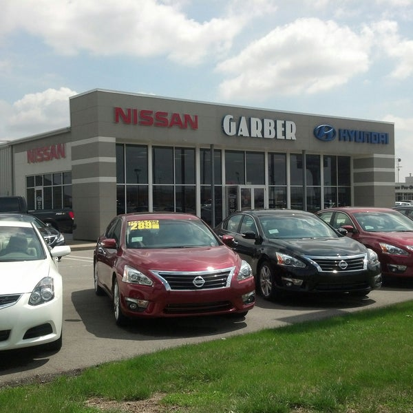 Garber Nissan Hyundai - Gas Station