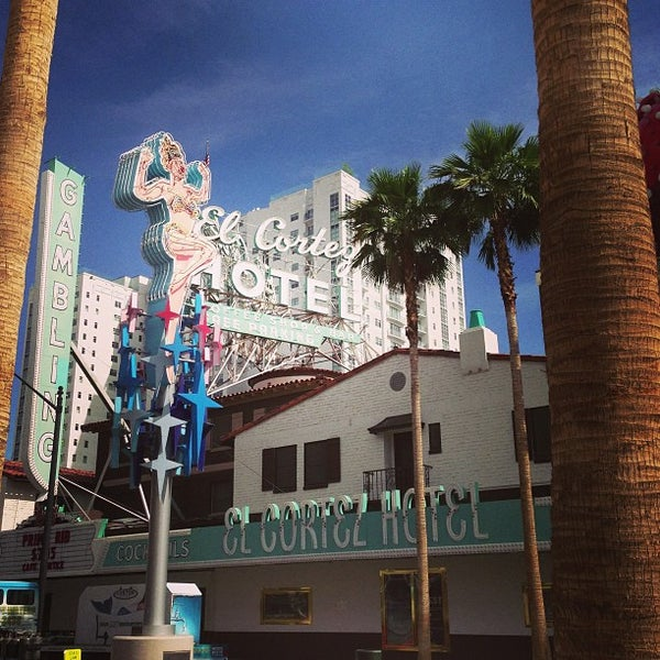 Photo taken at El Cortez Hotel & Casino by Dwight B. on 5/15/2013