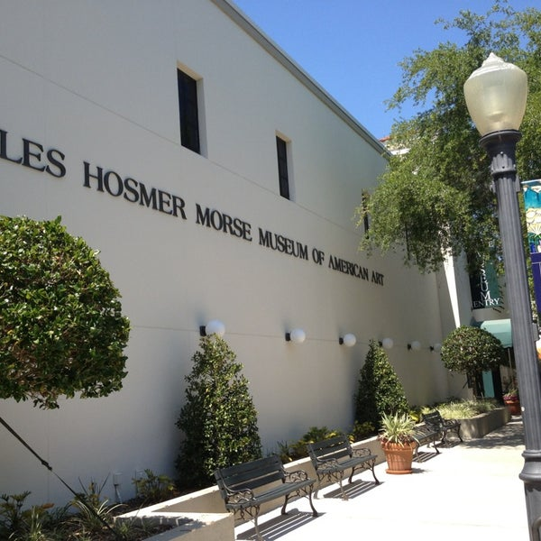 Photo taken at Charles Hosmer Morse Museum Of American Art by AwayIsHome on 3/29/2013