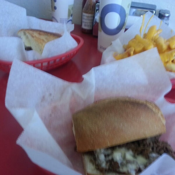 Photo taken at Amato's Cheesesteaks by David G. on 5/4/2013