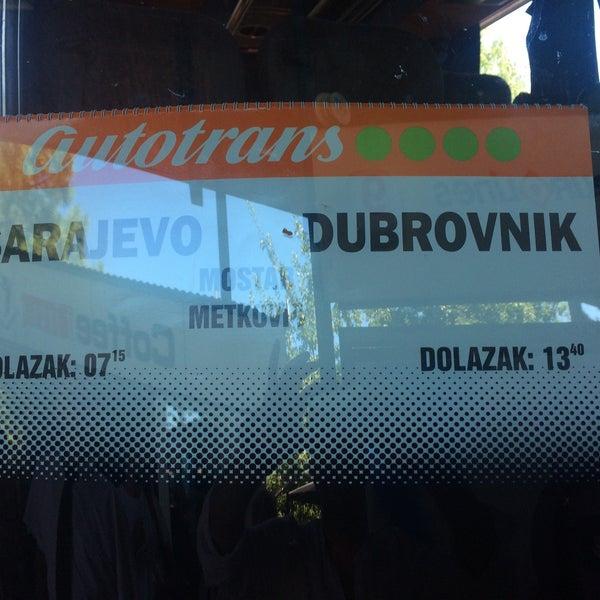 Photo taken at Autobusna stanica by Cevat E. on 7/29/2017