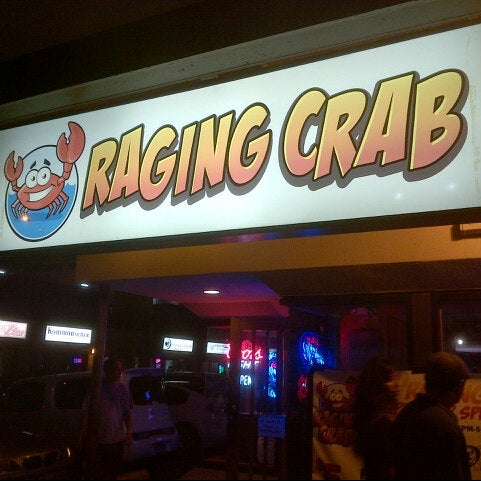 Photo taken at Raging Crab by Kenny T. on 4/6/2013