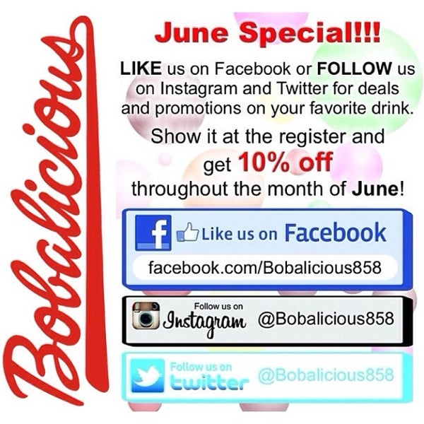 Photo taken at Bobalicious by Andy A. on 6/2/2014