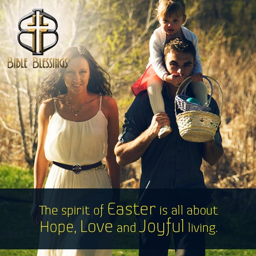 Happy Easter from all of us at Bible Blessings® #QualityChristianGifts