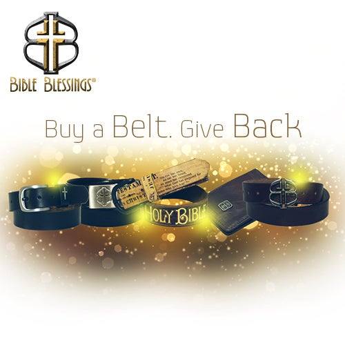 The future is as bright as your faith. 10% of your purchase price goes to St Jude Children's Hospital to help bless another person. #bibleblessings