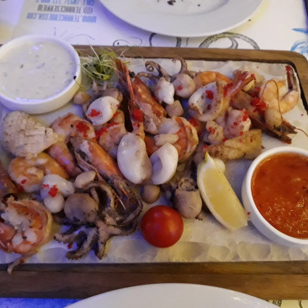 I would call it one of the best restaurants in Odessa. Great view, great service, good prices, very clean, beautiful design, live music Fri-Sun - always good performers. Grilled seafood mix is Perfect