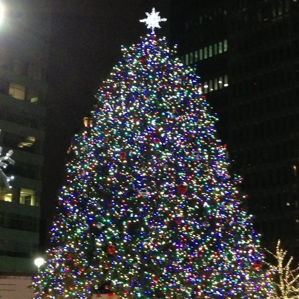 Photo taken at Campus Martius by Andrew D. on 12/24/2012