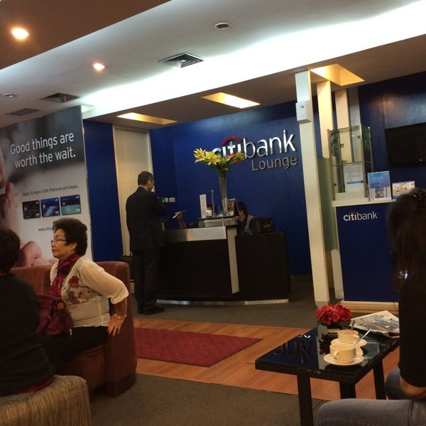 Photo taken at Citibank Lounge by George S. on 7/16/2014