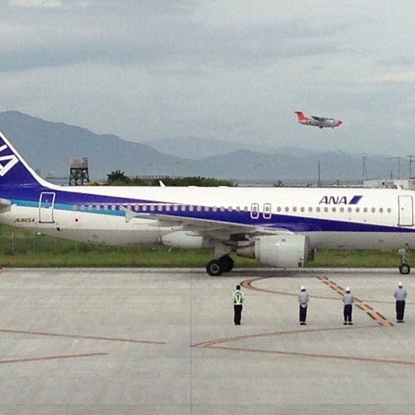 7/5/2013にtomizouが岩国錦帯橋空港 / 岩国飛行場 (IWK)で撮った写真
