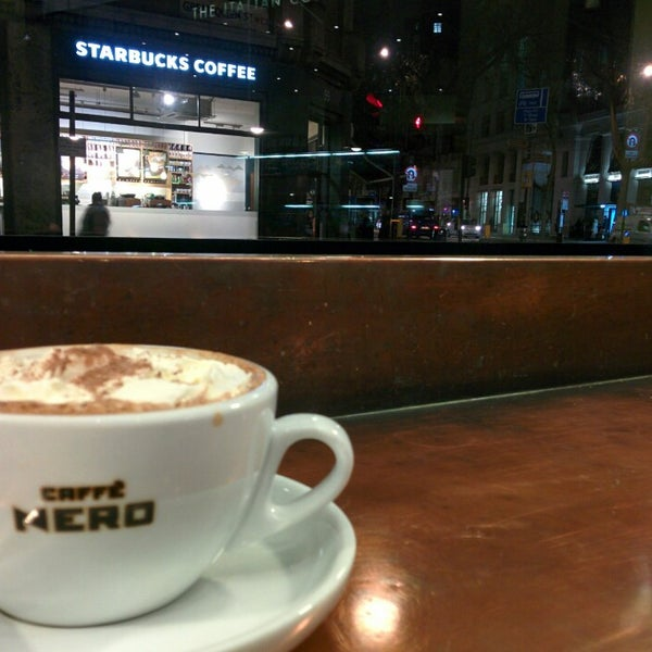 Photo taken at Caffè Nero by Igor K. on 1/11/2015