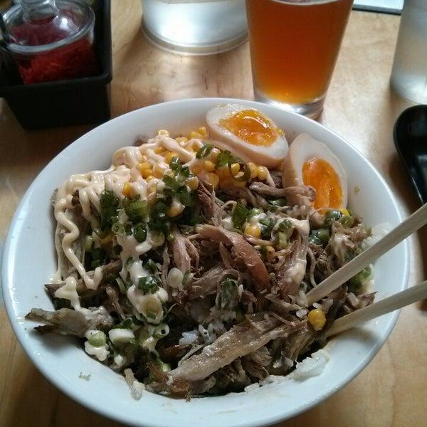 Photo taken at Samurai Noodle by Shantel H. on 4/15/2014