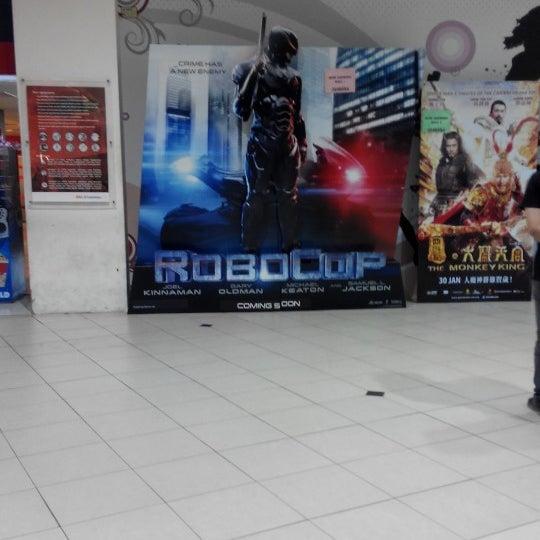 Photo taken at Big Cinemas by Nur F. on 2/12/2014