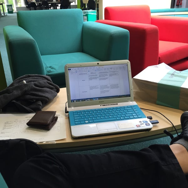 Photo taken at Northumbria University Library by Muhamad Ismail L. on 6/21/2016